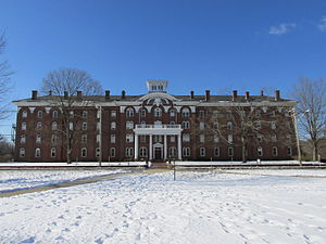 National Register of Historic Places listings in Hampden County, Massachusetts - Image: Rich Hall, Wilbraham and Monson Academy, Wilbraham MA