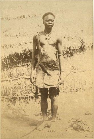 Madi people - Madi man late 1870s in southern Sudan