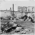 Richmond, Virginia. Ruins of Richmond & Petersburg Railroad depot LOC cwpb.02701.jpg