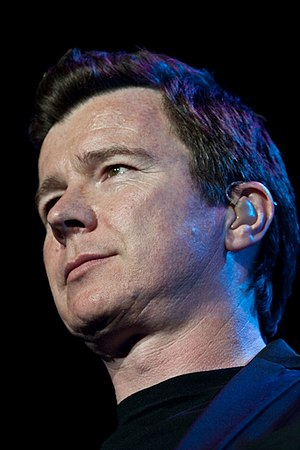 """Meet the Quagmires - Rick Astley's single """"Never Gonna Give You Up"""" was performed by Seth MacFarlane as Brian Griffin."""