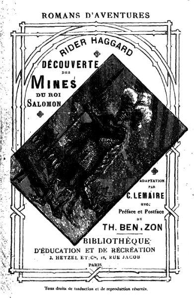 File:Rider Haggard - Découverte des mines du roi Salomon.djvu