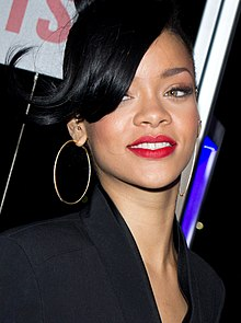 Photograph of Rihanna