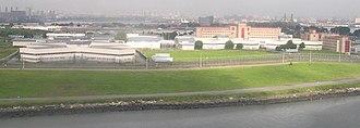 Rikers Island - Image: Rikers Island crop