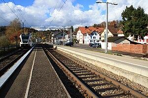 Tösstal railway line - Image: Rikon IMG 2732