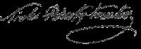 Firma de Rimsky-Korsakov