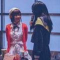 Rinka Okita and Genko at Rinka's booth 20190413.jpg