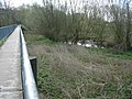 River Penk from footbridge, Baswich, Staffordshire. - geograph.org.uk - 1279657.jpg