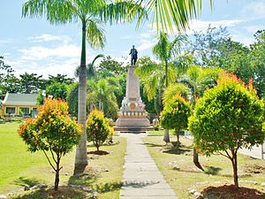 Santa Cruz, Davao del Sur - Rizal Park, Sta. Cruz
