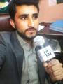 Rj Irfan Haidar Doing show at FM 101 Bahawalpur How a Radio jockey do show.png