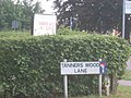 Road sign in Abbots Langley - geograph.org.uk - 39636.jpg