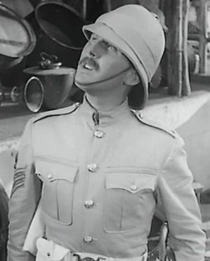 Robert Coote - Coote in the trailer for Gunga Din, 1939
