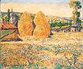 Robert Delaunay Paysage les meules 1905.jpg