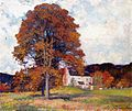 Robert Vonnoh - Autumn Hillside & My Studio.jpg