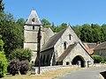 Roberval (60), église Saint-Remy, vue depuis l'ouest 4.JPG