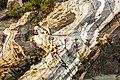 Rocas erosionadas junto al glaciar Davidson, Haines, Alaska, Estados Unidos, 2017-08-18, DD 90.jpg