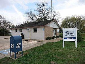 Rock Island, Colorado County, Texas - Image: Rock Island TX Post Office