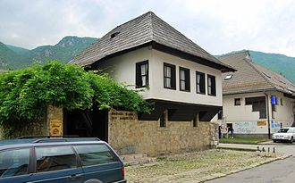 Ivo Andrić - The house in which Andrić was born