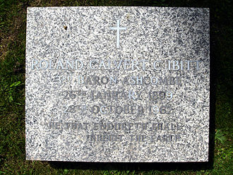 Roland Cubitt, 3rd Baron Ashcombe - Roland Cubitt funerary monument, St Barnabas's Church, Ranmore Common, Surrey