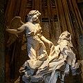 Rom, Santa Maria della Vittoria, Die Verzückung der Heiligen Theresa (Bernini) Cropped.jpg