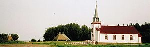 Hay River, Northwest Territories - Church in Hay River