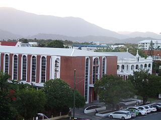 St Monicas Cathedral, Cairns