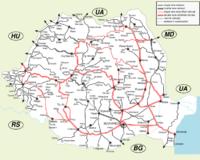 Romania Cartina Stradale.Romania Wikivoyage Guida Turistica Di Viaggio