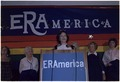 Rosalynn Carter speaks to an audience of ERA supporters during the National Womens Conference. - NARA - 176939.tif
