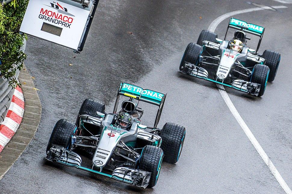 Rosberg Hamilton - 2016 Monaco GP 2