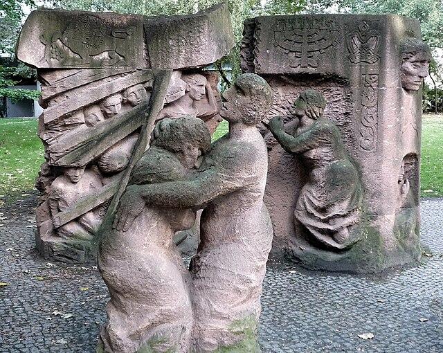 Rosenstrasse Denkmal 1
