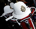 Royal Marines Band Service Helmets and Drums MOD 45155556.jpg