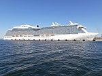 Royal Princess at pier 27 Port of Tallinn Tallinn 17 May 2014.jpg