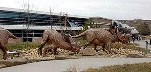 Royal Tyrrell Museum of Palaeontology - Entrance