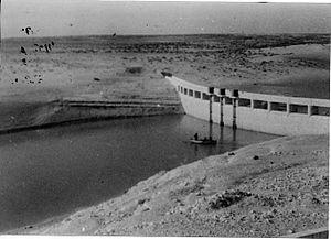 Abu Ageila - Ruafa dam, 1948