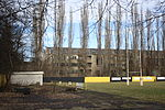 Rugby field and Praga factory hall no 19.JPG