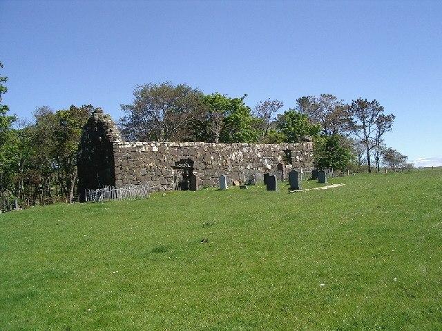 Ruined chapel of Kildonnan. - geograph.org.uk - 125587