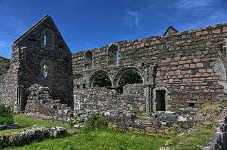Iona Nunnery - Ruins of the Iona Nunnery.