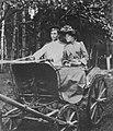 Russischer Photograph um 1892 - Ankunft auf einem Landgut in der Provinz Pensa (Zeno Fotografie).jpg