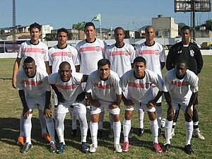 São Cristóvão de Futebol e Regatas - Team photo from the 2011 season