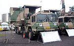 SANDF Armed Forces Day 2017 - SAAF MAN 8X8 Tactical Mobile Radar Operation Pallet (32233116353).jpg