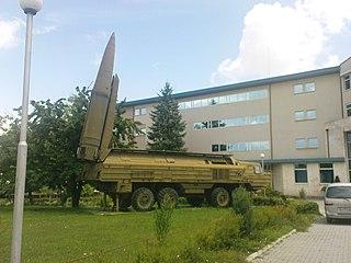 OTR-23 Oka theater ballistic missile