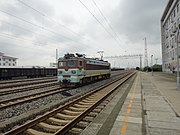 SS3 0101 at Chengdu North Railway Station Marshalling Yard.jpg