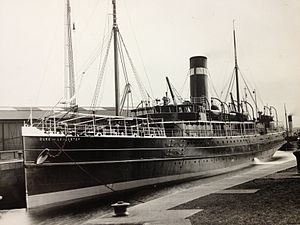 SS The Ramsey - Duke of Lancaster in London & North Western Railway Company service.