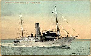 Fyodor Litke (1909 icebreaker) - Earl Grey, 1910–1914