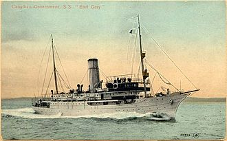 CCGS Earl Grey - The first Earl Grey, sold to Russia in 1914.