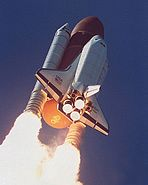 STS-34 Launch (Low)