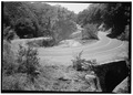 SWITCHBACK CULVERT, FACING SOUTH - Generals Highway, Three Rivers, Tulare County, CA HAER CAL,54-THRIV.V,2-103.tif