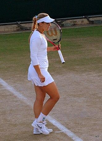 Sabine Lisicki - Lisicki at the 2011 Wimbledon Championships.