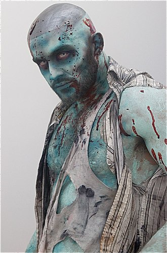 François Sagat - Sagat in the lead role in L.A. Zombie (2010)