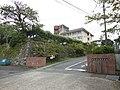 Saga Prefectural Kashima Business High School gate.JPG
