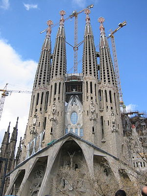 Sagrada Família church, Gaudi's masterpiece